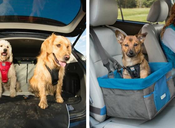 Kurgo Dog Car Booster Seat and Seat Cover   Vanillapup