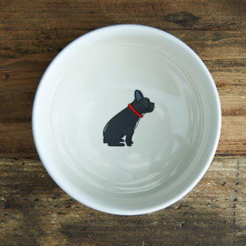 Sweet William London French Bulldog Dog Bowl