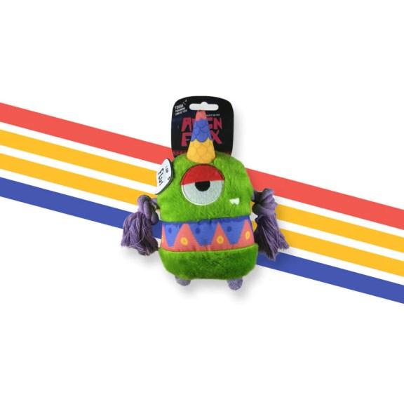 Alien Flex Printed Canvas Toy- Flo