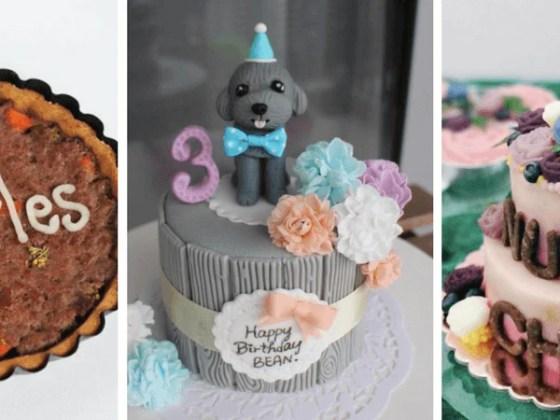 Strange 12 Dog Bakeries To Buy Your Dogs Birthday Cake Vanillapup Funny Birthday Cards Online Necthendildamsfinfo
