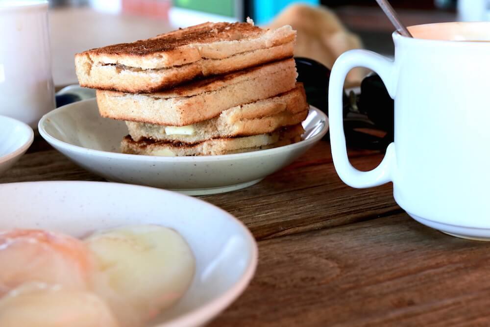Dog-friendly Legend Kaya Toast and Soft-boiled Eggs | Vanillapup