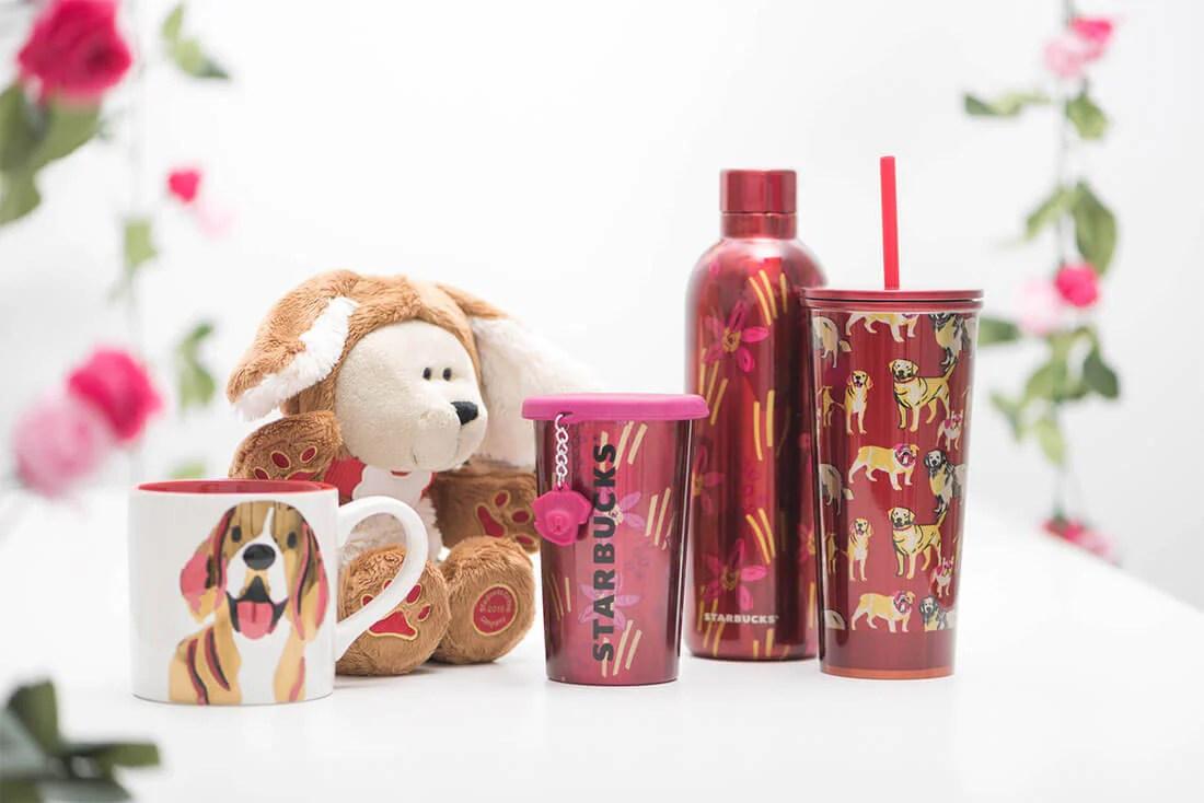 Starbucks 2018 CNY Special Mechandise | Vanillapup