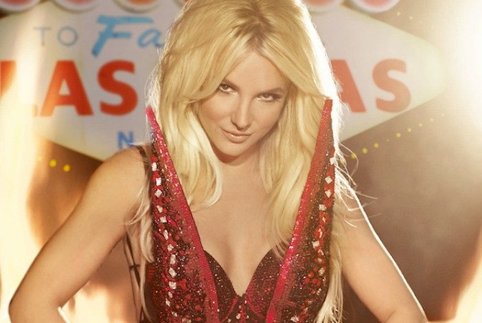 Britney spears in the Planet Hollywood