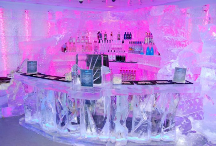MINUS 5 ICE BAR Las Vegas - mandalay bay