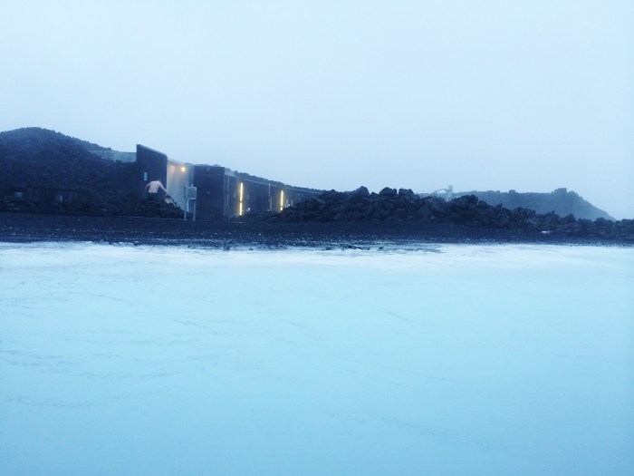 the amazing blue lagoon