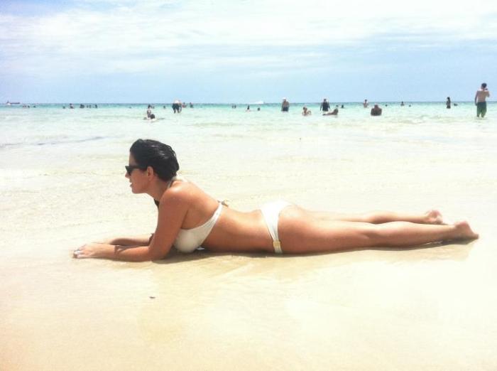 bikini girl miami hofit kim cohen