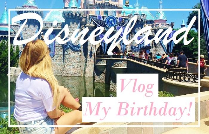 My Birthday In Disneyland Vlog Vanilla Sky Dreaming