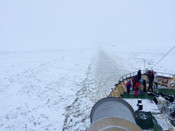 Sampo Icebreaker ship - Kemi, Finland