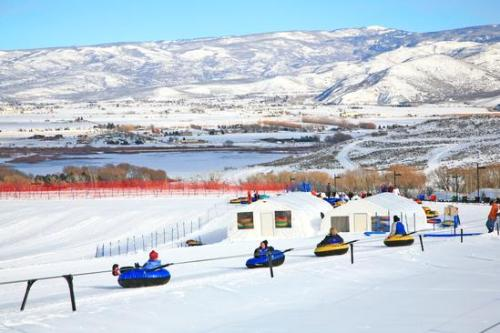 Tubing Soldier Hollow Things To Do In Heber Valley, Utah