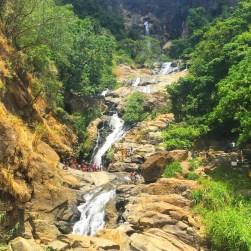 Ravana Falls, Ella, Sri Lanka - waterfall