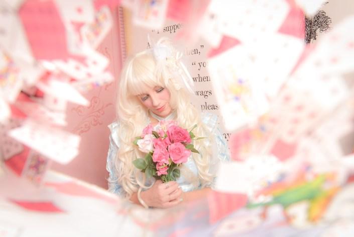 Harajuku Girl Lolita - Alice In Wonderland - vanilla sky dreaming