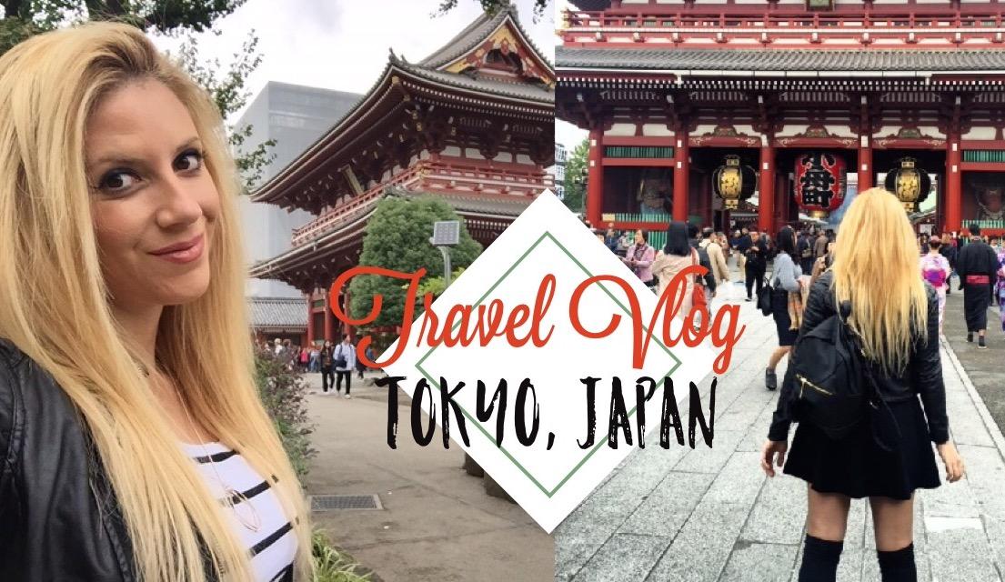 TRAVEL VLOG: TOKYO, JAPAN (Asakusa & Shibuya Crossing)