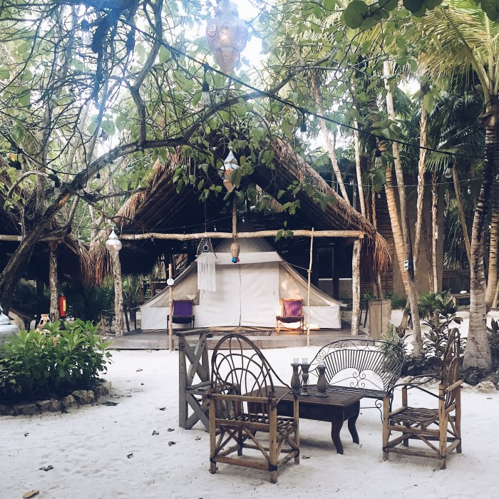 Glamping In Tulum, Mexico (Fancy Camping - Deluxe Tent)