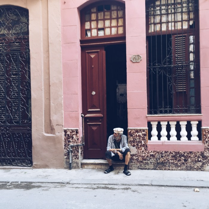 Classic Cuba Moment...just waiting around for change