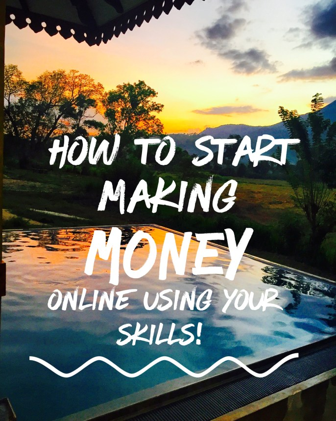 This post is for all you bloggers, stay at home moms, artist, experts and dreamers and basically anyone who wants to make an extra income online in today's world!