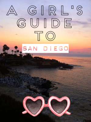 A Girl's Guide to San Diego