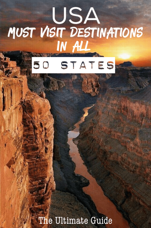 The Ultimate Guide to all 50 States in the USA America