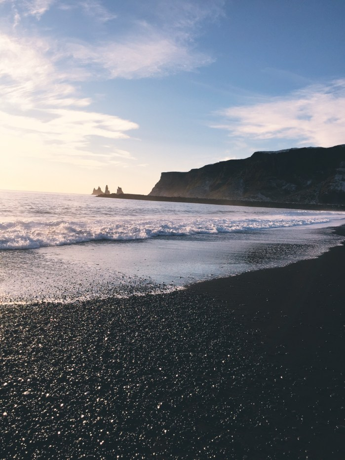 Black Sand Beach - Iceland - Vik - South Coast Rreynisfjara