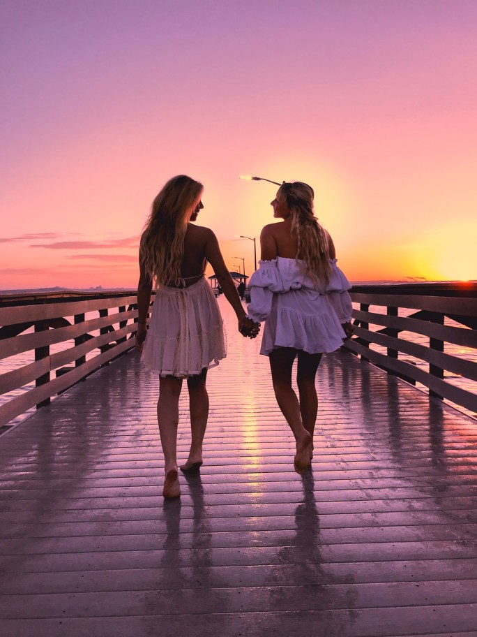 Girlfriend Getaway Guide To North Florida - Road Trip (Hofit Kim Cohen & Kelly Hill) Sunset