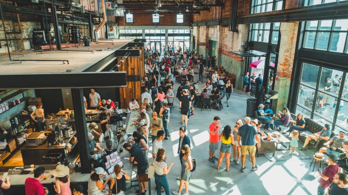 Heights Public Market at Armature Works