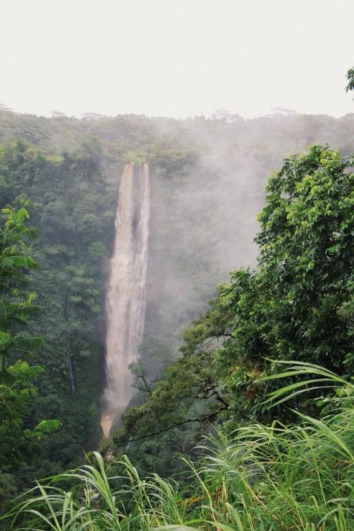 waterfall in samoa