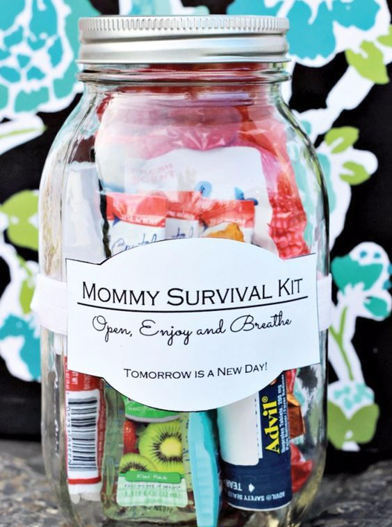 Mom Survival Kit Jar