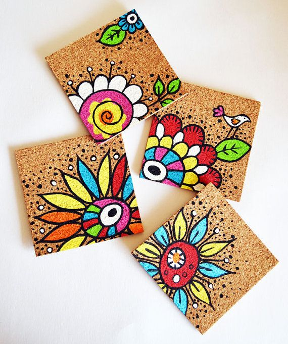 c0449790684c8e4f0955aa5d423181e7--hand-painted-coasters-cork-coasters-diy-paint