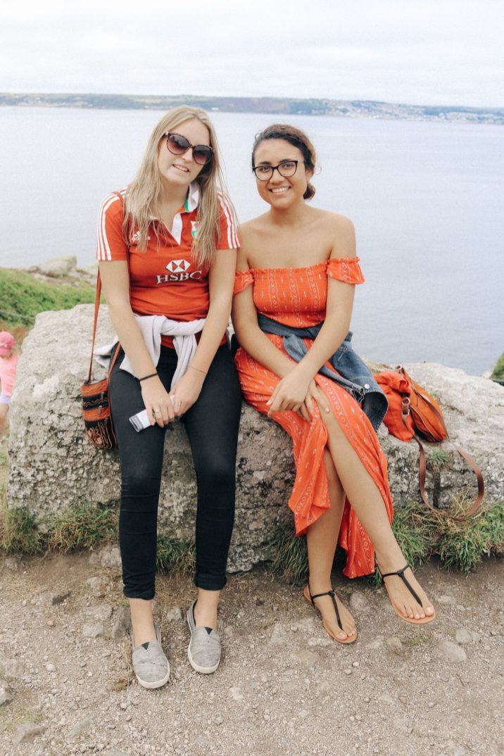 My wonderful friend Alice and I at the Mount