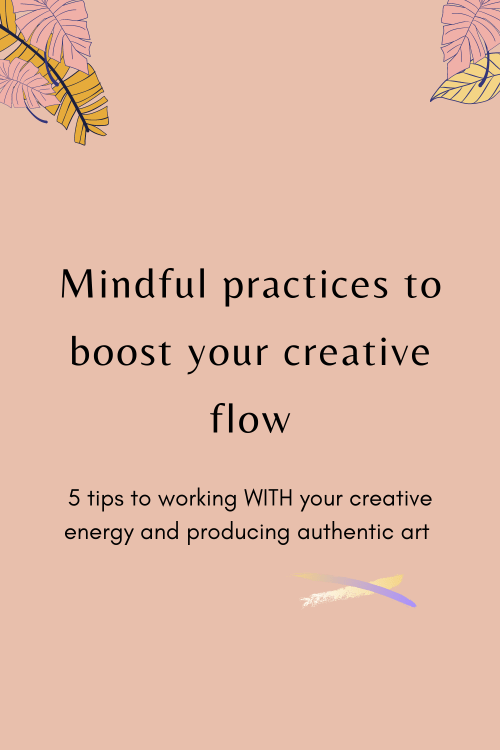 mindful practices for creative minds