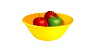 3D fruit bowl