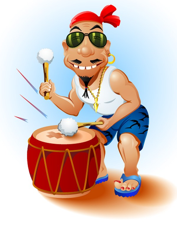 How to Create a Happy Drummer Using Adobe Illustrator and VectorScribe Plugin