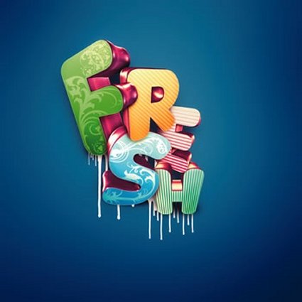 3D Typographic Effects