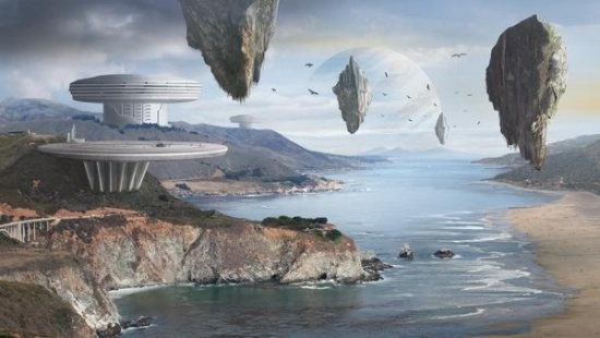 How to Create an Amazing Futuristic Matte Painting in Photoshop