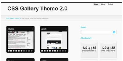 CSS Gallery Theme 2.0