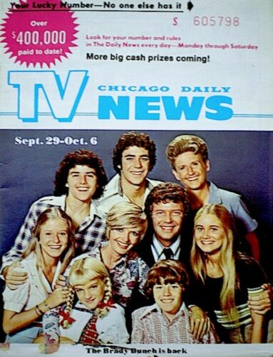 brady bunch chicago daily tv news 1973