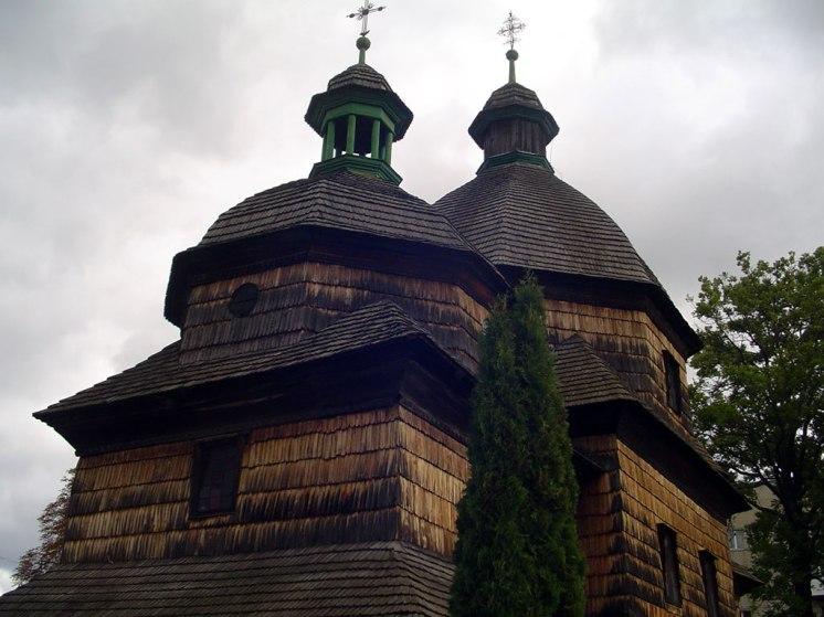 Zhovkva - Ukrainian wooden square