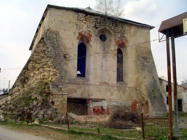 Pidhaitsi - synagogue