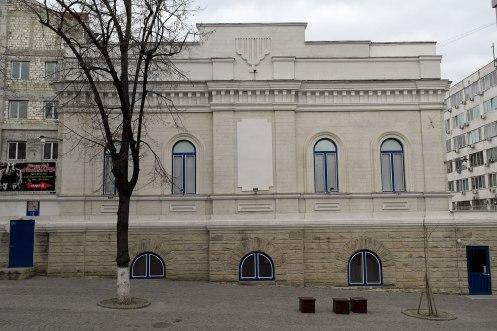 Chişinău - synagogue of the Jewish community centre