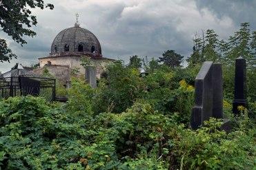 Chernivtsi Jewish cemetery, Ukraine