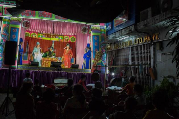 Chinese Opera in Chinatown - © Philippe Besnard