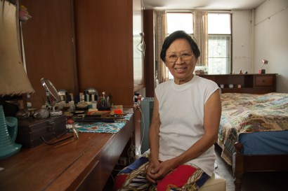 Lang Suan Soi 6 - The house of this lady is about to be knocked down - © Philippe Besnard