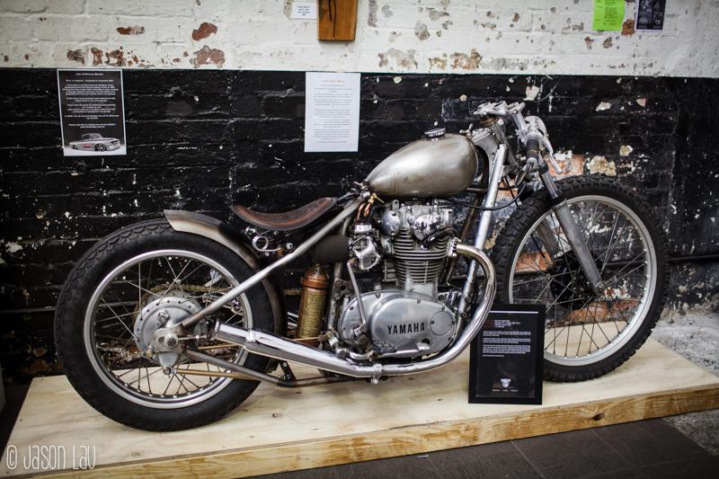 Oil Stained Brain – Custom Bike Show :: Jason Lau