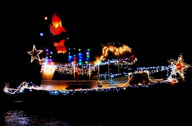 Sidney Lighted Boat Parade Van Isle Marina