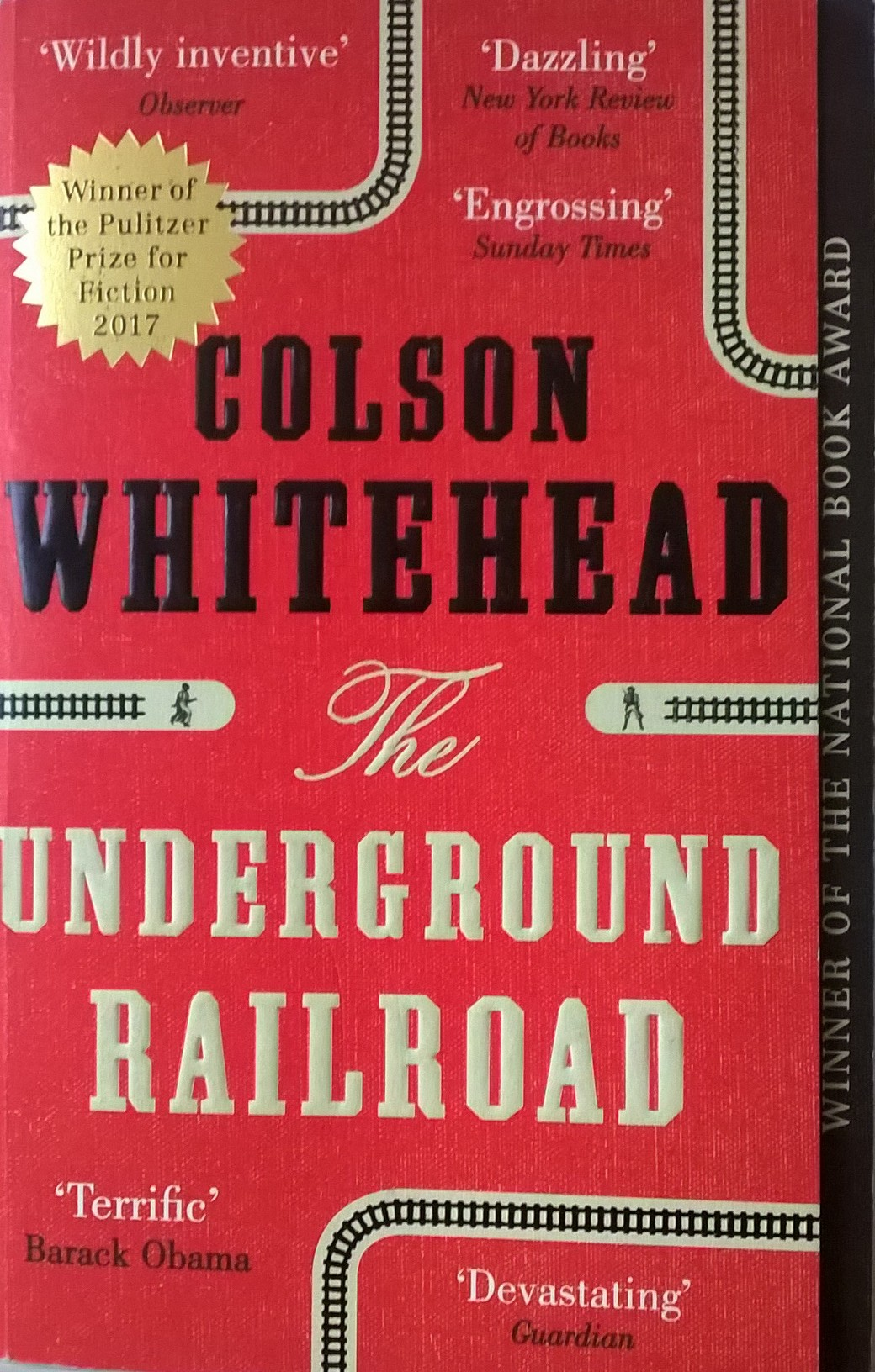 Van Has Finished Reading The Underground Railroad By