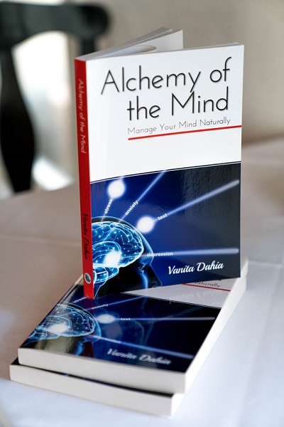 Alchemy of the Mind Books by Vanita Dahia