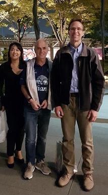 Kaori Shibata, Peter Gotis and Shawn Buza