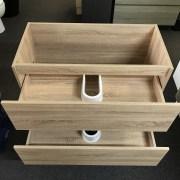 BOGETTA 900mm White Oak | Cabinet Interior