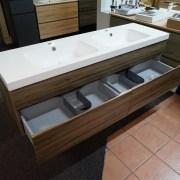 ASTI-1500mm-Walnut-Oak-Timber-Wood-Grain-PVC-THERMOFOIL-Wall-Hung-Double-Vanity-252931965290-5