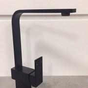 Designer-Square-Neck-MATTE-BLACK-Quality-Swivel-Kitchen-Laundry-Basin-Sink-Mixer-252566245970-2