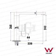 ETTORE-Square-Matte-Black-Tall-180-Swivel-Vessel-Basin-Kitchen-Laundry-Mixer-253125410340-2